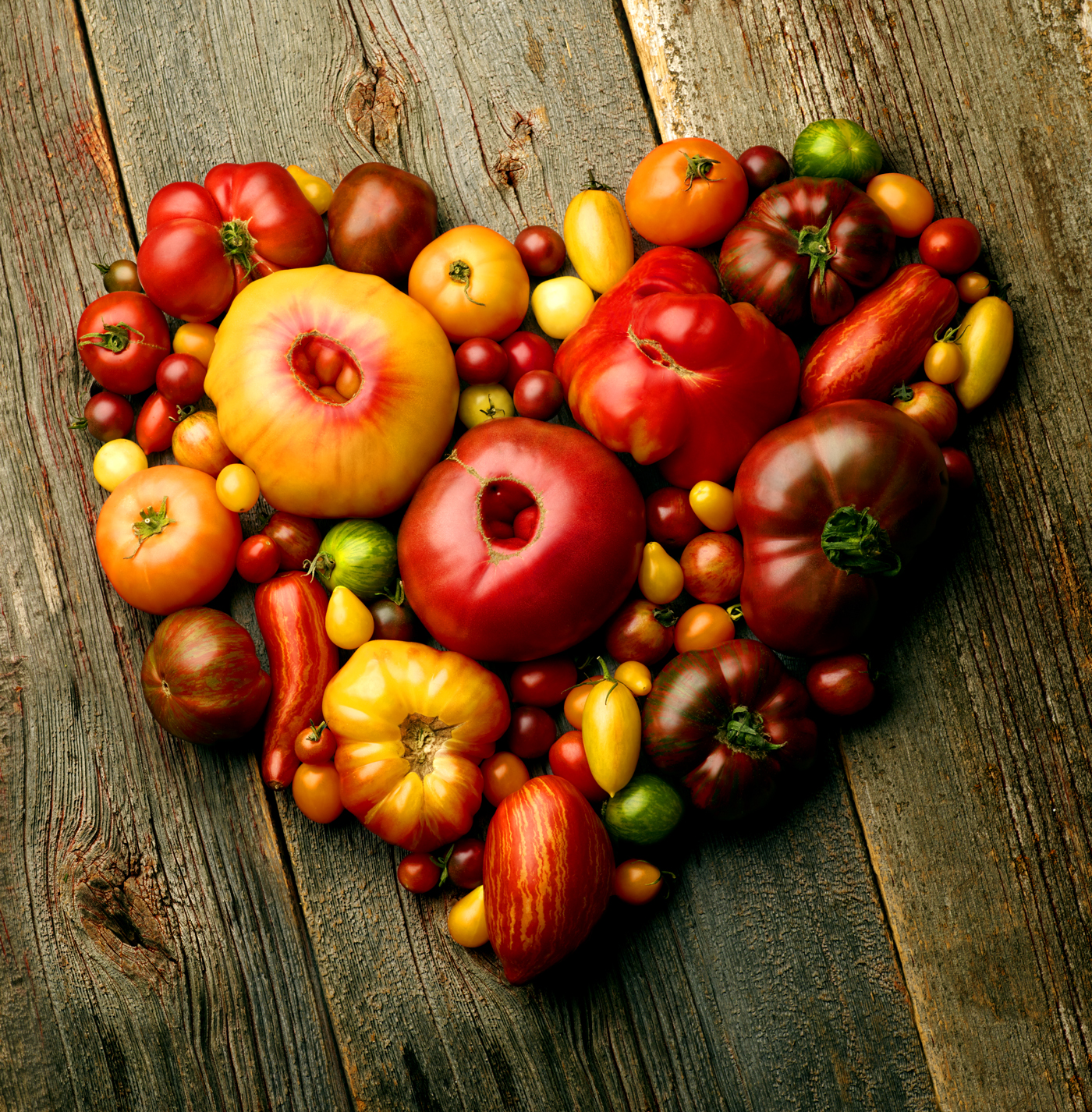 Heirloom tomatoes Heart copy