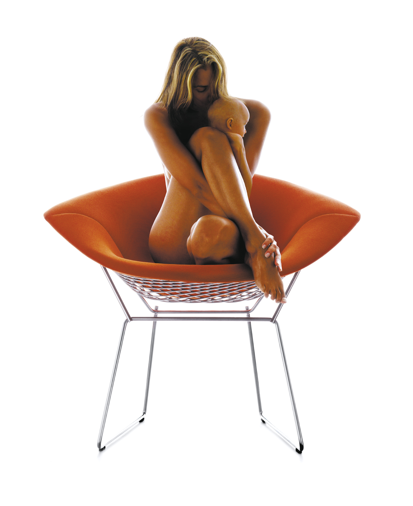 bertoia chair copy
